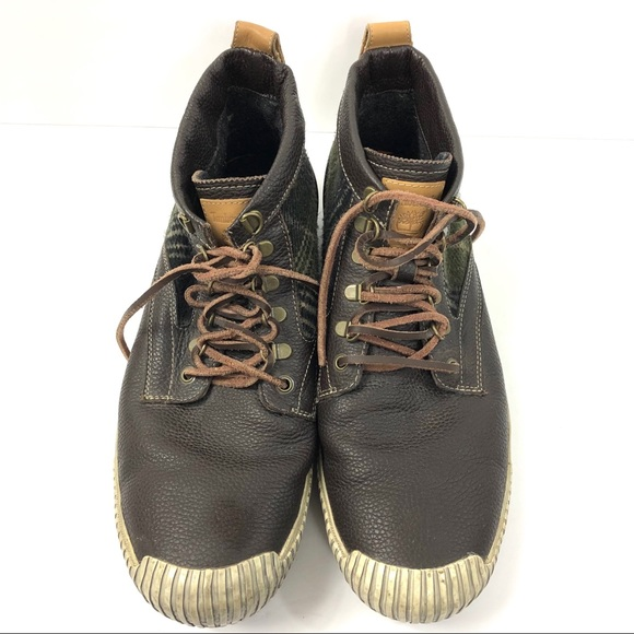 4518a9a779e Timberland Leather ANTI-FATIGUE Boots Mens 13M